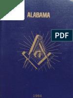 Masonic Rituals of the Grand Lodge of Alabama