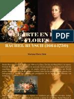 El Arte en Las Flores, Rachel Ruysch (1664 - 1750)