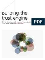 UBS Bit Coin Building the Trust Engine