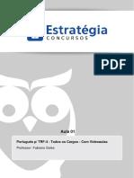 Tribunal Regional Federal Da 4a Regiao 2014 Portugues Aula 01