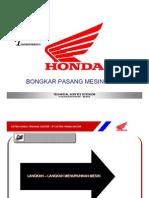 Bongkar Pasang Mesin Honda Vario AT110