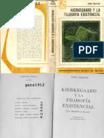 CHESTOV, LÉON - Kierkegaard y La Filosofía Existencial [Por Ganz1912]