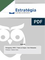Tribunal Regional Federal Da 4a Regiao 2014 Portugues Aula 05