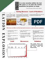 Population Explosion Poster
