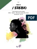 Anais IV EREBIO - Regional 4 - 2017