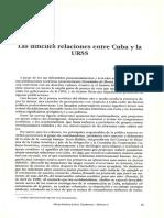 James Petras_las Dificiles Relaciones Entre Cuba y La Ussr