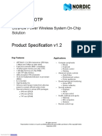Nrf24le1 o Product Specification v1 0