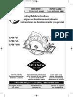 Skilsaw Spt67wm Manual