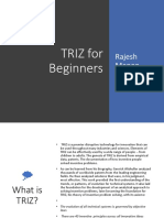 TRIZ for Beginners