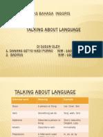 Tugas Talking About Language