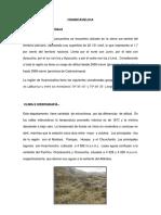 Rocas Sedimentarias Del Cuadrangulo de Huancavelica