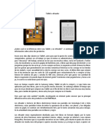 Tablet o E readers
