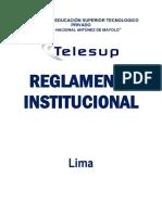 Reglamento Interno Telesup.-2013
