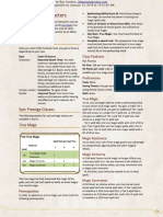 Excerpt - 5e Epic Characters for Dragonlance