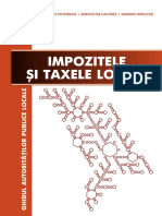Impozitele Si Taxele Locale
