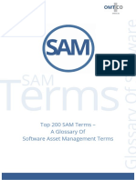 OMTCO Top 200 SAM Terms a Glossary of Software Asset Management and Licensing Terms