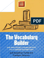 The Vocabulary Builder the Practically Painless Way to a Larger Vocabulary