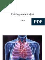 Curs 2 Fiziologia Respirației