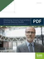 Scenario Segmentation Anomaly Detection Models 107495