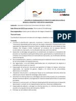 Perfil Para La Contratación de Coordinador Rdd y Atención Humanitaria