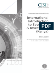 International Introduction to Securities and Investment Kenya Ed1