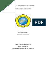 Makalah Sistem Pengobatan Sendiri ( Hasyidan s1 Farmasi Transfer)