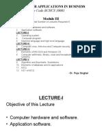 Computer -Module 3