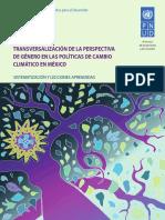 Transversalizacion Genero CC MX