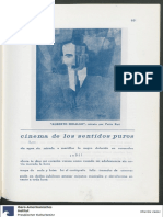 Amauta. Enrique Peña. Cinema de los sentidos