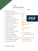 1era Practica Calificad de Geologia General, 2013