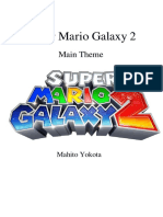Super Mario Galaxy 2 Main Theme - Orchestra Score