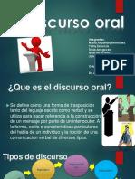 Discurso Oral