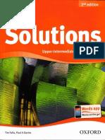 Solutions 2nd Ed - Upper-Interm SB
