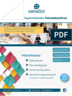 Folleto Informativo Instituto CENSI