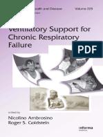 Ventilatory Support for Chronic Respiratory Failure