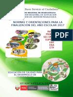 Direct. Finaliz. Año 2017 Preliminar