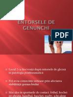 7. Entorsele de Genunchi