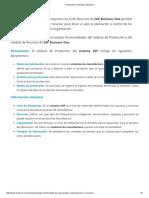 Producción y Recursos _ Evolve-it