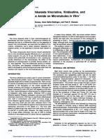 Action of the Vinca Alkaloids Vincristine, Vinblastine
