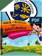 Manual de Recreação Para Aventureiros