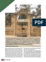 The historical Armenian cemetery