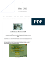 Características e Objetivos Em CME – Meu CME
