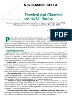 Designfax 3 - Thermal, Electrical and Chemical Properties of Plastics
