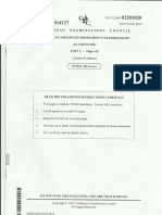 Accounting Paper 2 June 2014