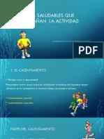 Hábitos Saludables Que Acompañan La Actividad Física