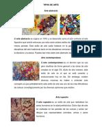 Tipos de Arte Fernando Munguia
