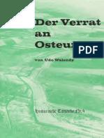 0565 Historische Tatsachen Nr. 04 Udo Walendy Der Verrat an Osteuropa (1978, 40 S., Scan)_text