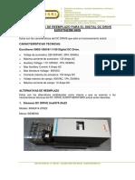 Informe Dc Drives