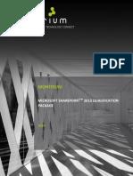 SharePoint 2013 Qualif. Pack List-1