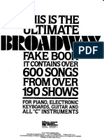 The Ultimate BROADWAY Fakebook